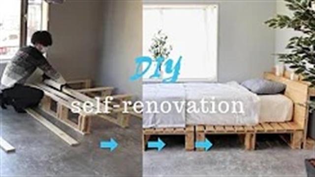 آموزش ساخت تختخواب راحت و ساده شیک در طراحی داخلی