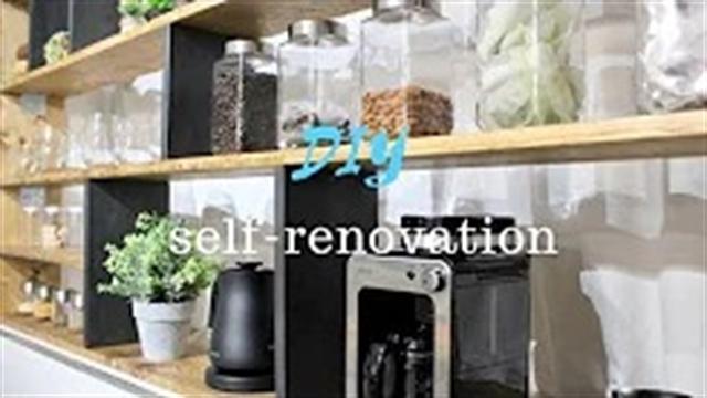 آموزش ساخت قفسه بندی آشپزخانه شیک در طراحی داخلی
