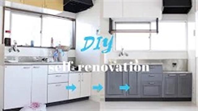 آموزش بازسازی خانه قدیمی – بخش 20 انجام دکوراسیون آشپزخانه